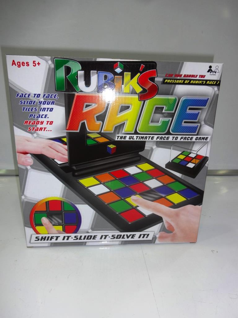 Rubic Race Game