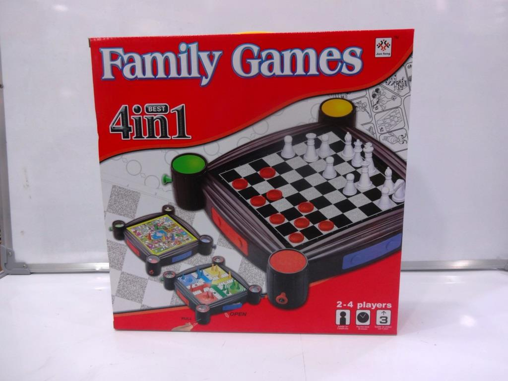 4 in 1 Family Game
