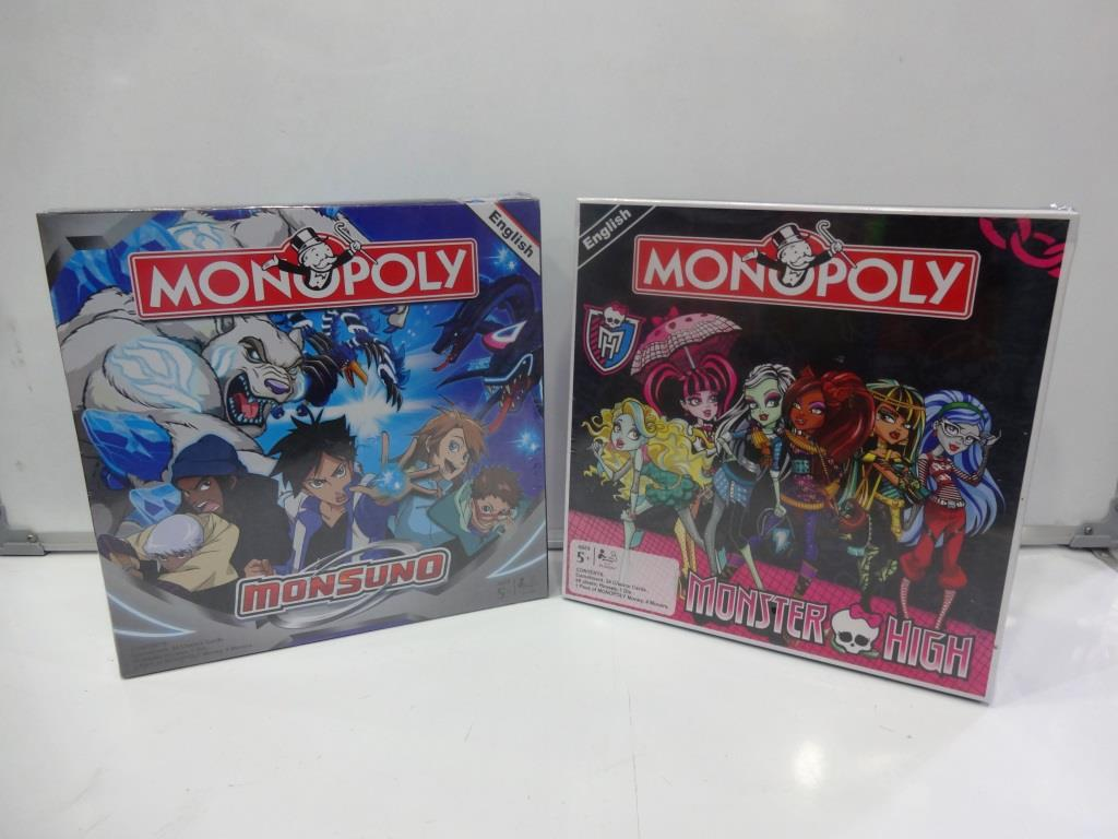 Cartoon Monopoly